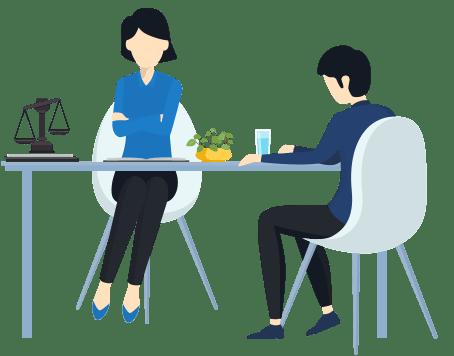 مشاوره حضوری با وکیل