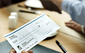 مواردی که چک جنبه کیفری ندارد.